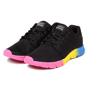 패브릭  리업 러너 블랙/멀티 OS(FABRIC REUP RUNNER BLACK/MULTI OS LADY)