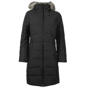 살로몬 여성 롱 다운 자켓 차콜(Salomon Coteaux Long Down Jacket Ladies Charcoal)